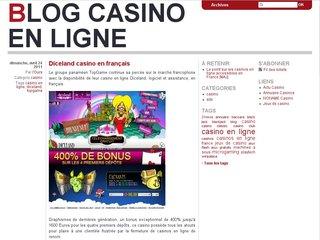 Blog casino en ligne
