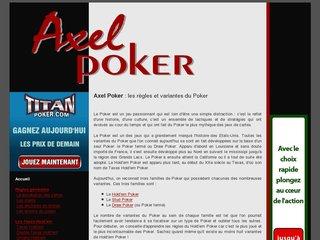 Axel Poker
